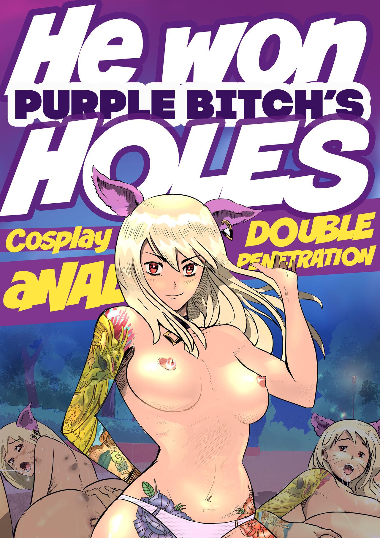 He Won Purple Bitchs Holes Purplebitch 01