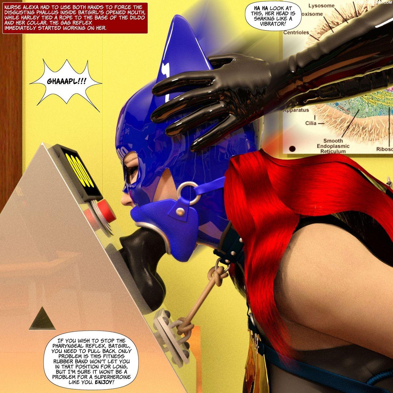 New Arkham For Superheroines Five 49