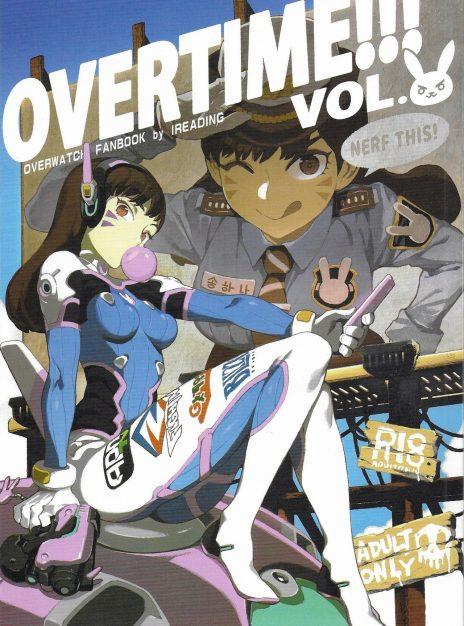 Overtime Overwatch Fanbook Vol 2 Bear Hand 01