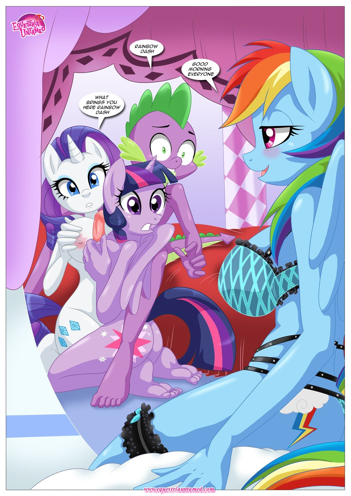 Rainbow Dashs Game Of Extreme Pda 11