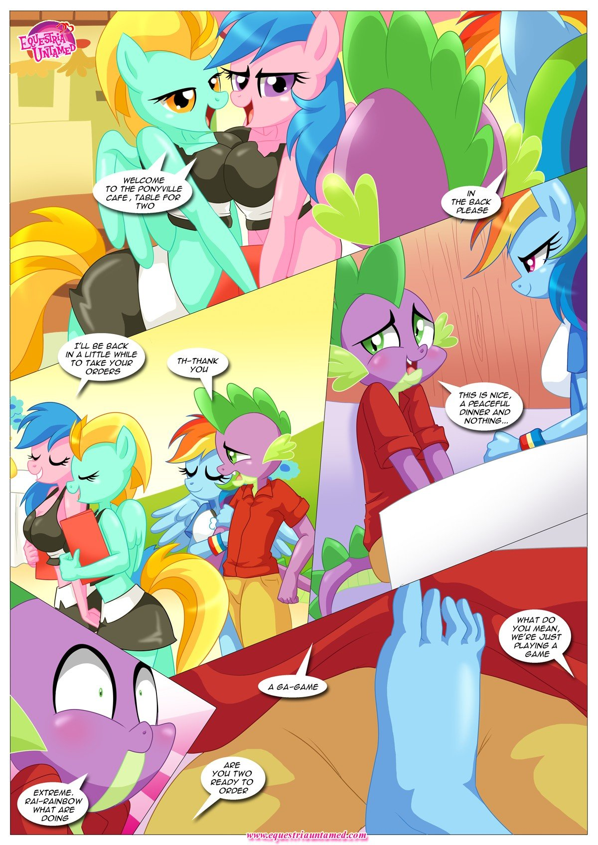 Rainbow Dashs Game Of Extreme Pda 20