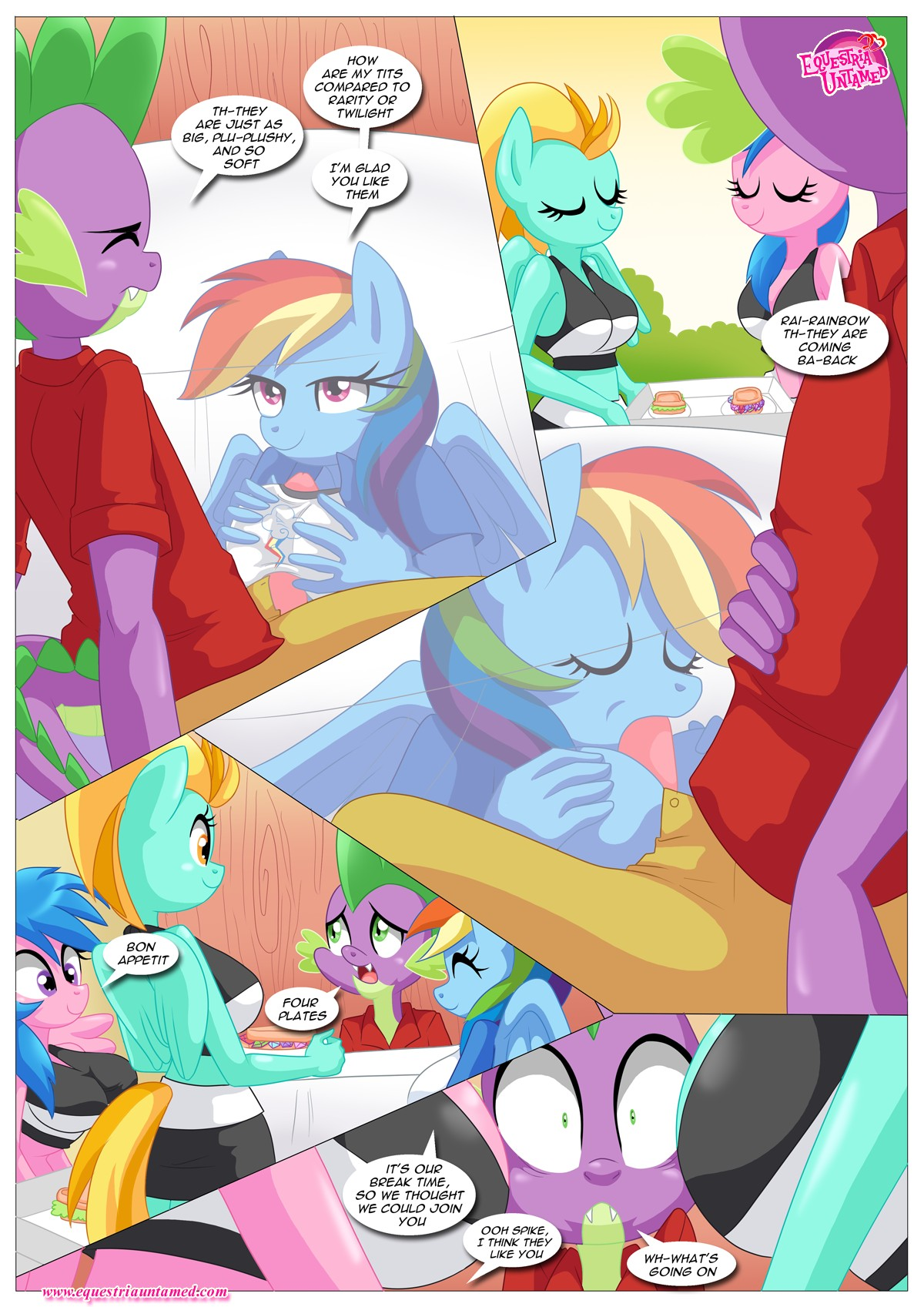 Rainbow Dashs Game Of Extreme Pda 23