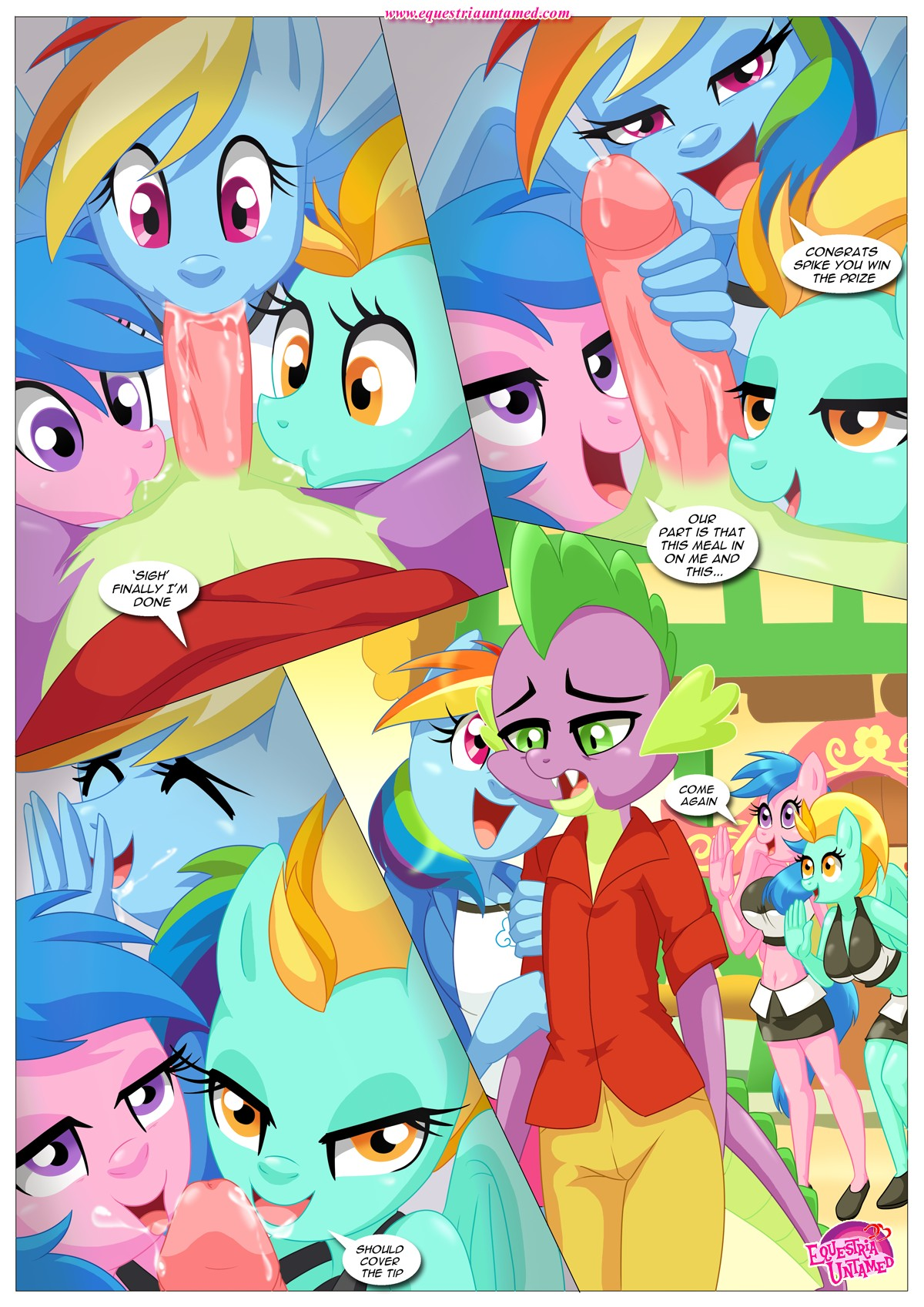 Rainbow Dashs Game Of Extreme Pda 27