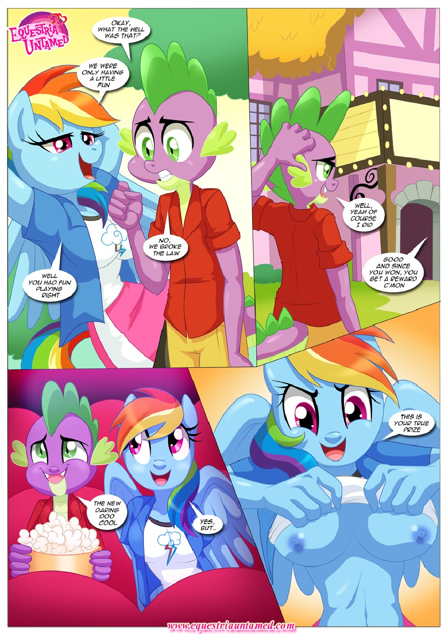 Rainbow Dashs Game Of Extreme Pda 28