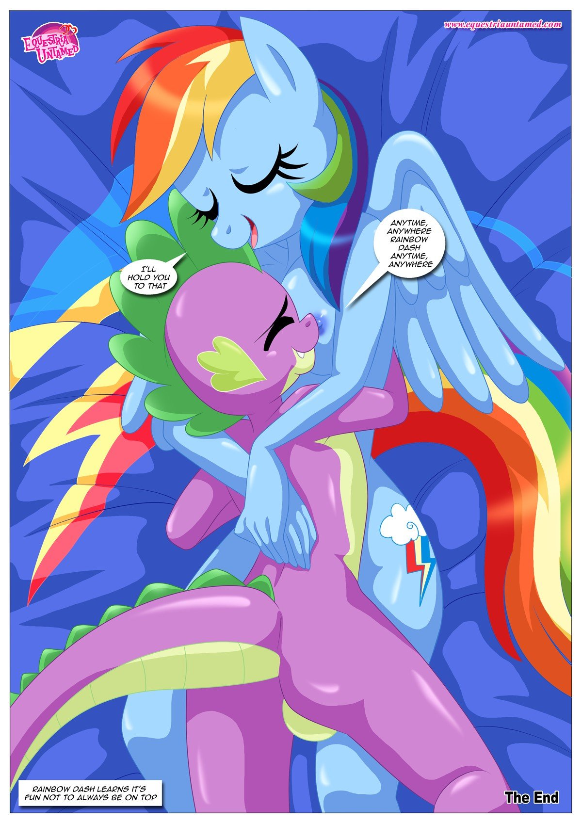 Rainbow Dashs Game Of Extreme Pda 40