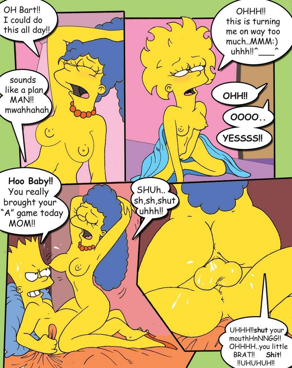 Simpcest Simpsons Porn 9