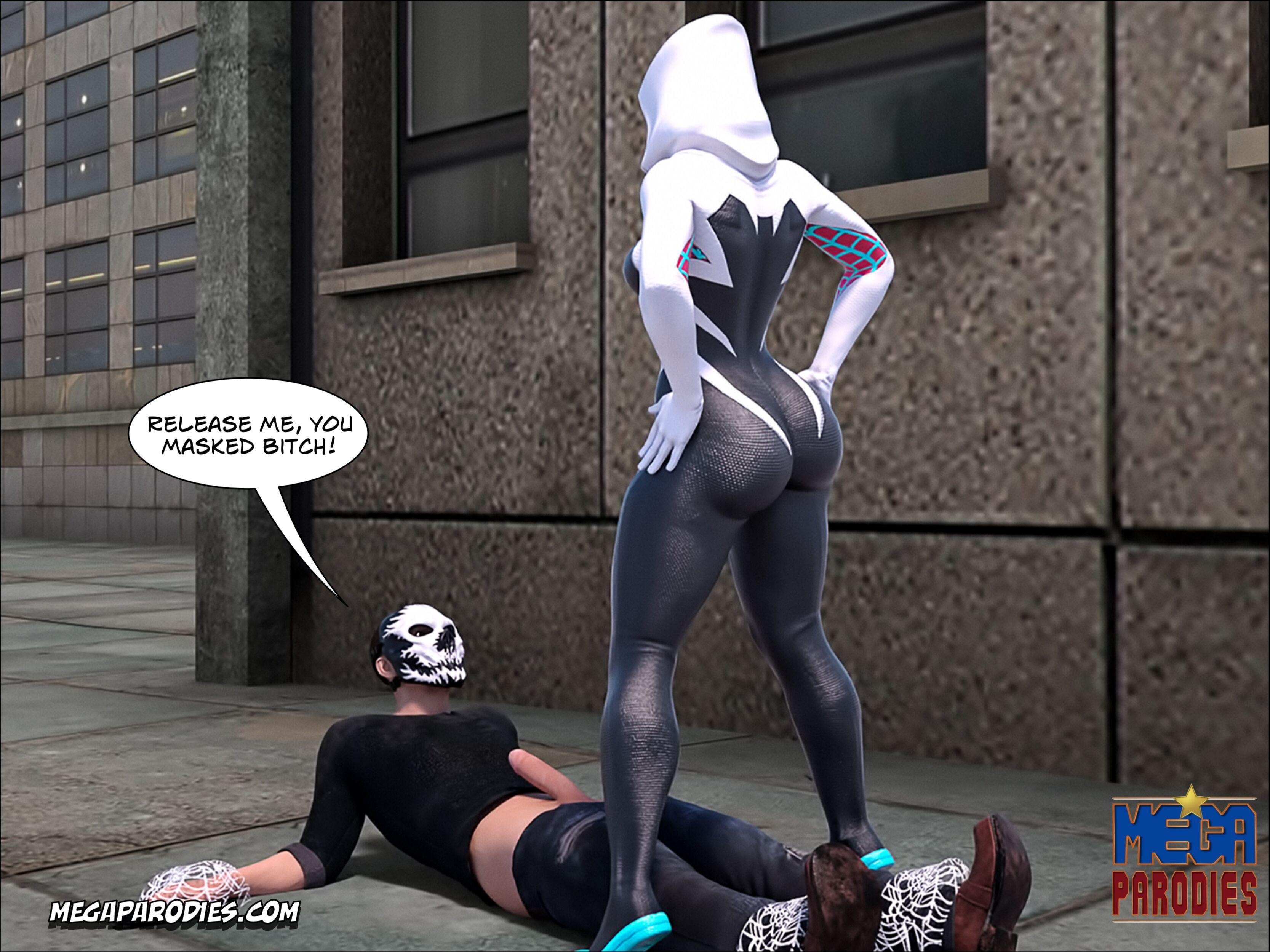 Spider Gwen part 1