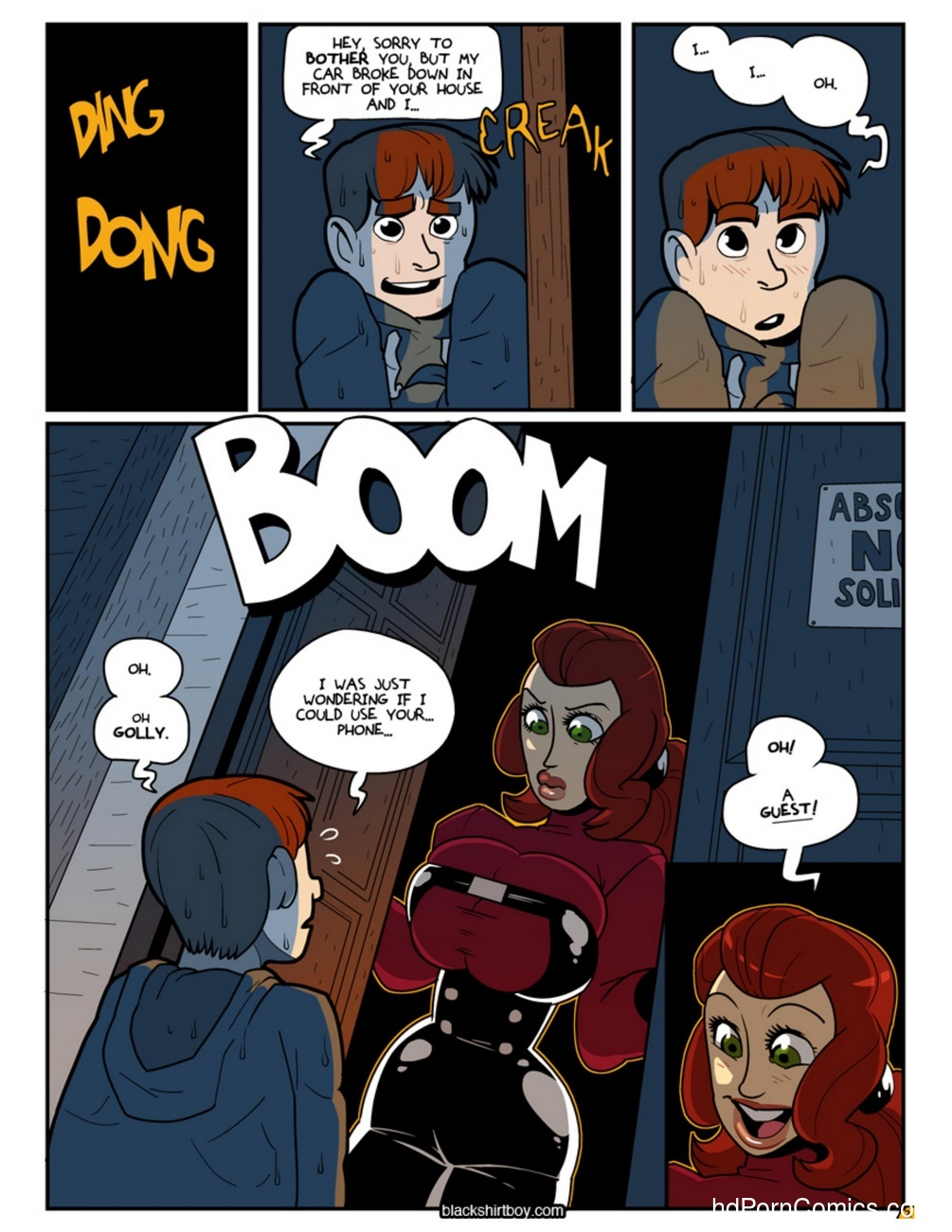 The House Guest Blackshirtboy 3