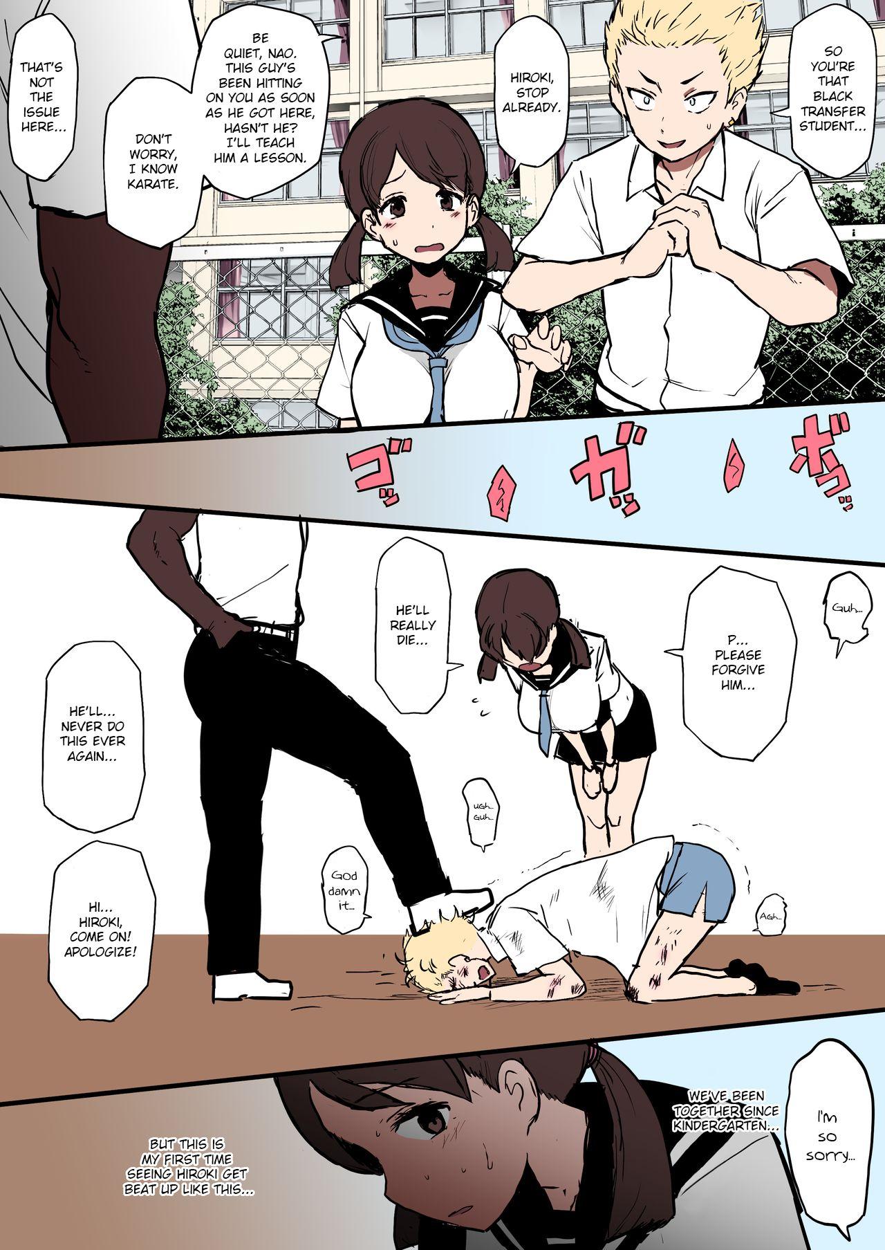 Kokujin No Tenkousei Ntr Ru Terasu Mc 01