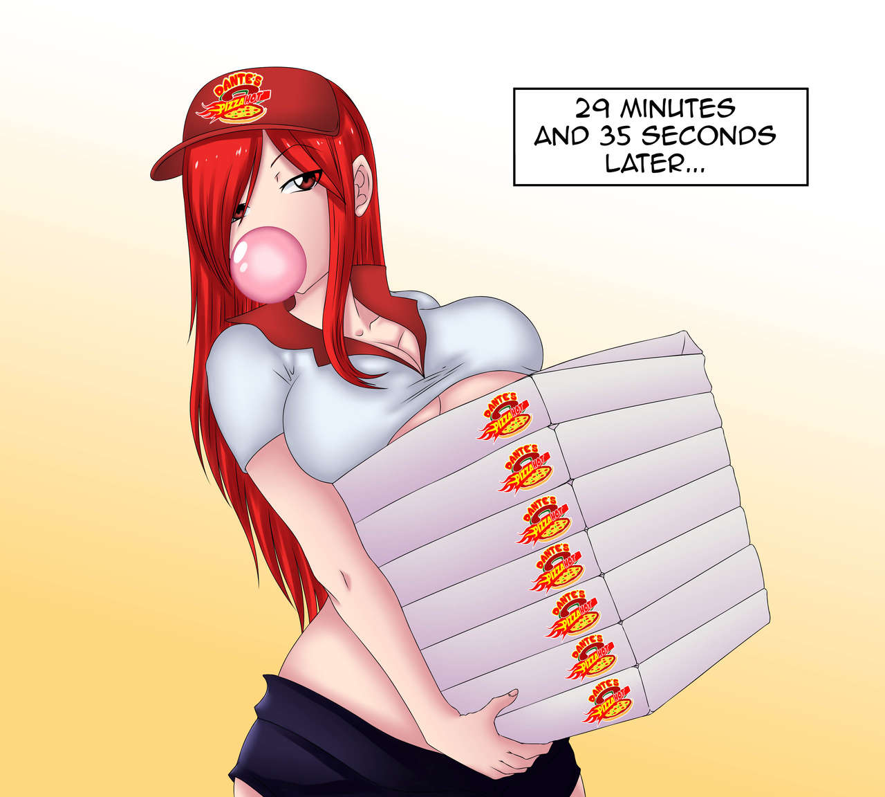 Pizza Delivery Service By Erza Scarlet 04