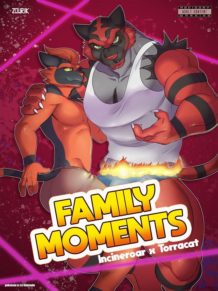 Zourik Family Moment Pokemon 01