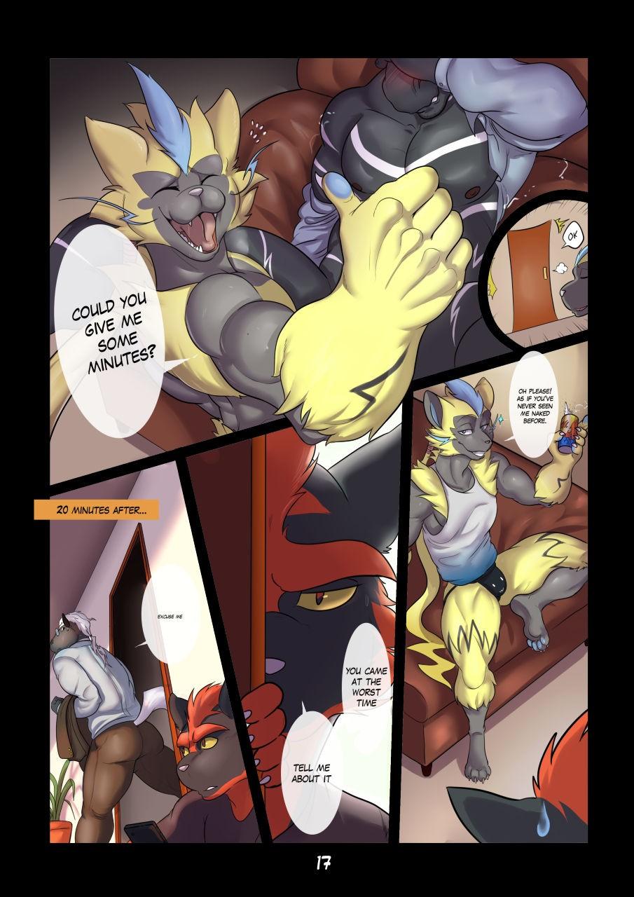 Zourik Family Moment Pokemon 19