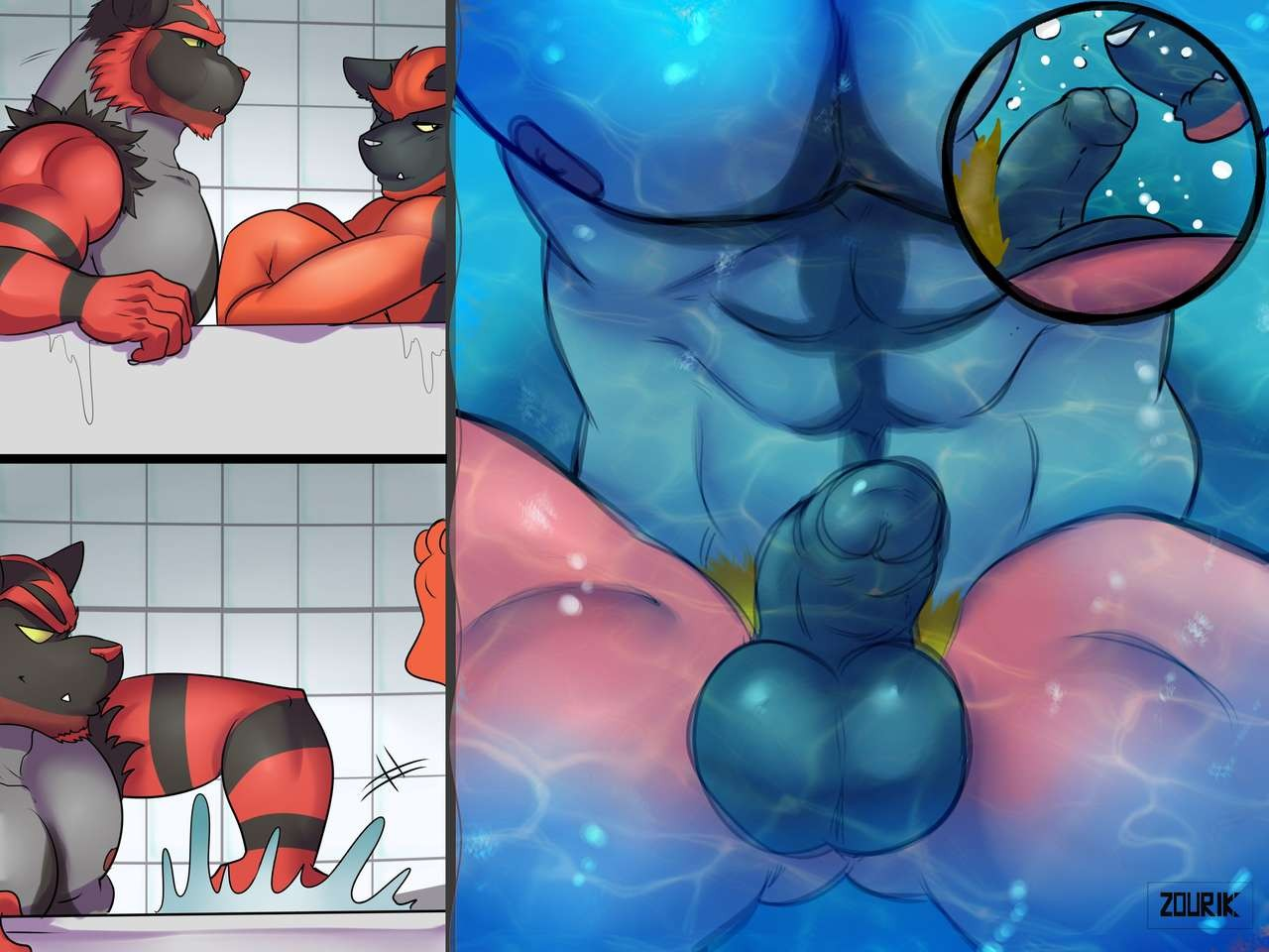 Zourik Family Moment Pokemon 72
