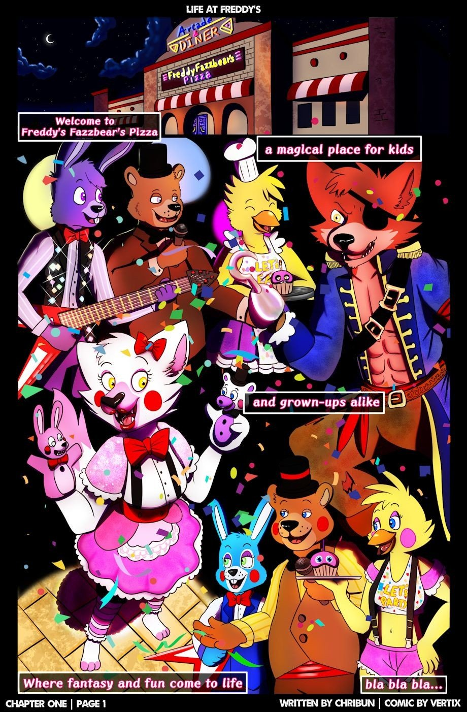 Five Nights At Freddys Life At Freddys Chapter One 03