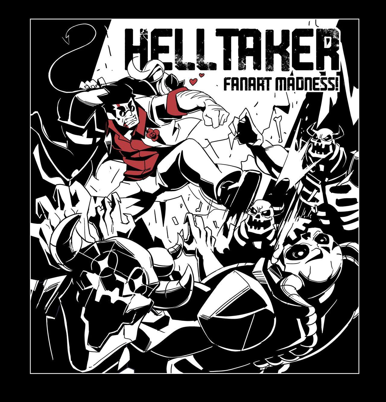 Helltaker Fanart Madness Nisego 06