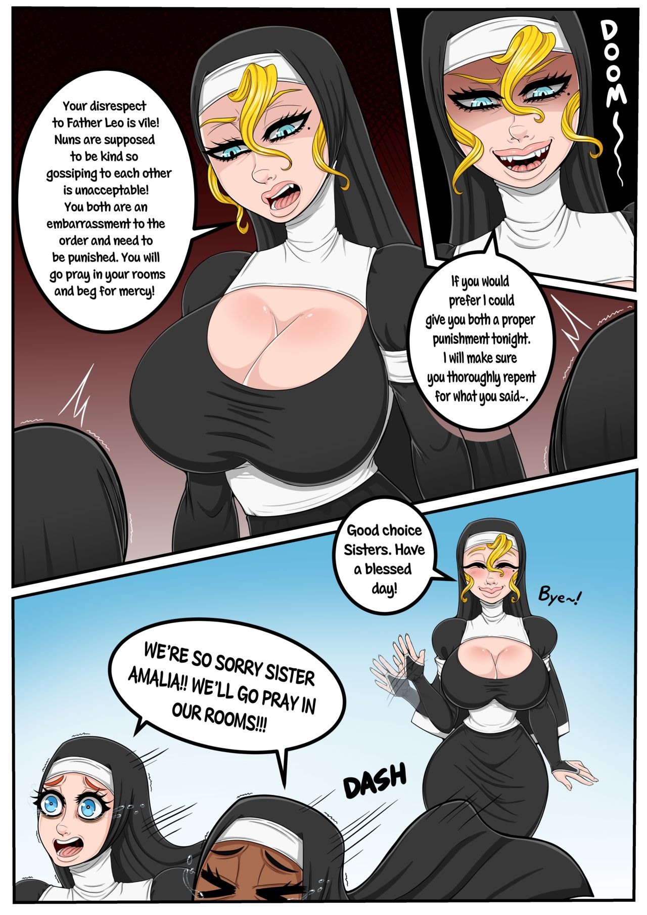 The Nun And Her Priest Gatorchan 05