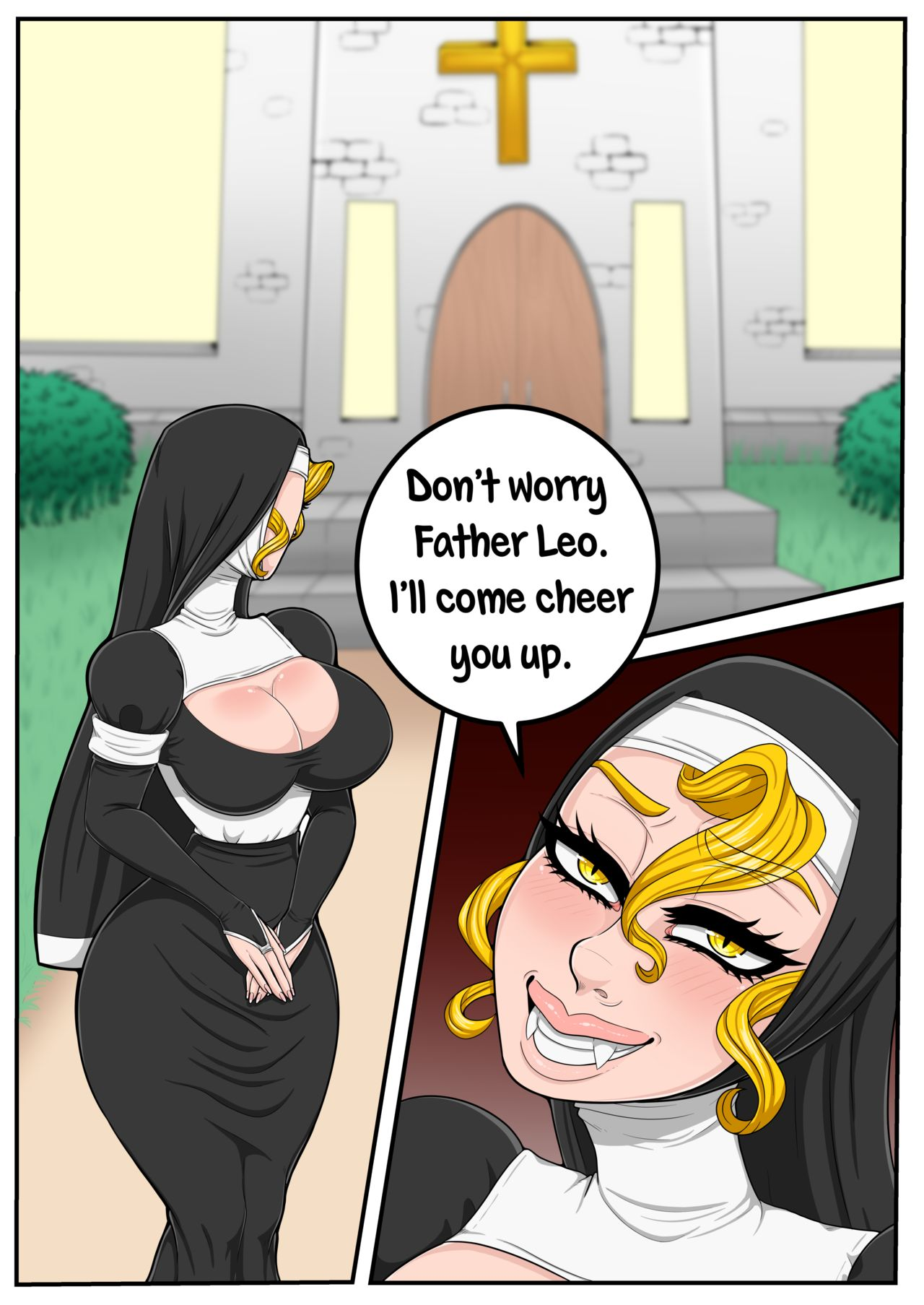 The Nun And Her Priest Gatorchan 06