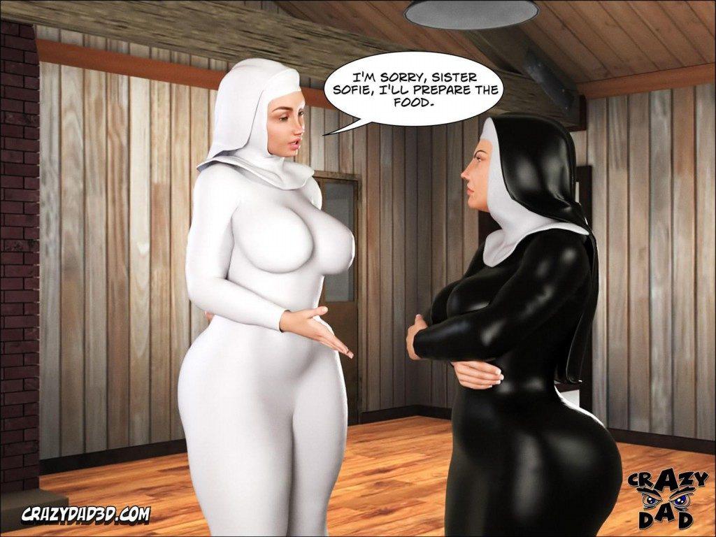 Sister Grace 2 – CrazyDad3D